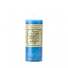 Affirmation Angel Candle