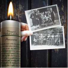 Ancestor Blessed Herbal Candle