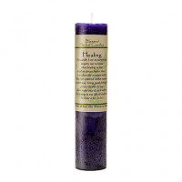 Healing Blessed Herbal Candle