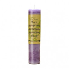 Blessed Herbal Candle Heart