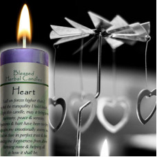 Heart Blessed Herbal Candle