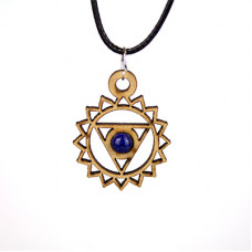 Chakra Magic Throat Chakra Jewelry and Sticker