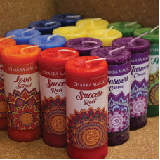 Chakra Magic Candle Mixed Case
