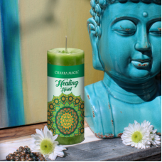 Chakra Magic Healing Candle