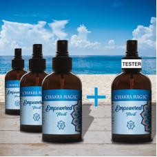 Chakra Magic Empowered Spray Tester Set