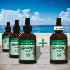 Chakra Magic Healing Spray Tester Set