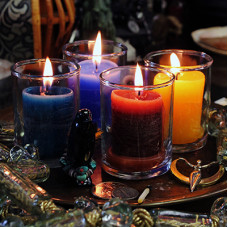 Power Votive Coventry Glass Candles Case Pack (36)