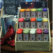 Wicked Witch Mojo Candle Display Set