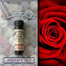 Rose Wicked Good Energetic Oils 2 Dram (7 ml)