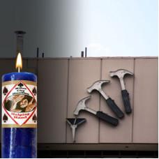 Helping Hand Hoo Doo Candle