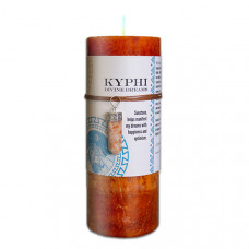 Kyphi Candle with Sunstone Pendant