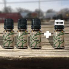 Energy & Will Blessed Herbal Oil Tester Set