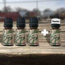 Healing Blessed Herbal Oil Tester Set