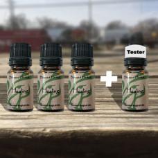 Healing Blessed Herbal Oil Tester Set