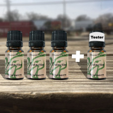 Protection Blessed Herbal Oil Tester Set