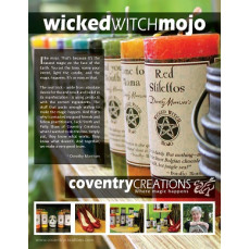 Wicked Witch Mojo Sign Point of Purchase