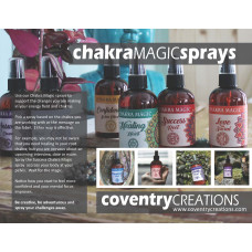 Chakra Magic Spray sign Point of purchase