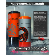 Halloween World Magic Sign Point of Purchase