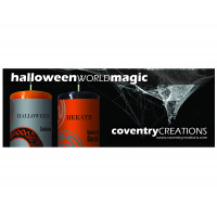 Halloween World Magic Shelf Talker