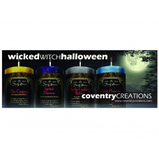 Halloween Wicked Witch Mojo Shelf Talker