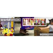 World Magic Shelf Talker