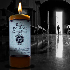 Bitch Be Gone Wicked Witch Mojo Candle