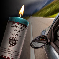 Outta My Way Wicked Witch Mojo Candle