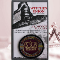 Witches Union - Magical Adept Crown of Success Patch