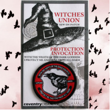 Witches Union - Magical Adept Protection Invocation Patch