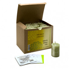 World Magic Sweet Grass  Votives (Box of 24)