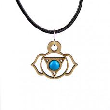 Chakra Magic Third Eye Wood Jewelry and Sticker