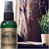 Smudge Spray: Sage and Rosemary