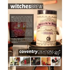 Witches Brew Sign Point of Purchase
