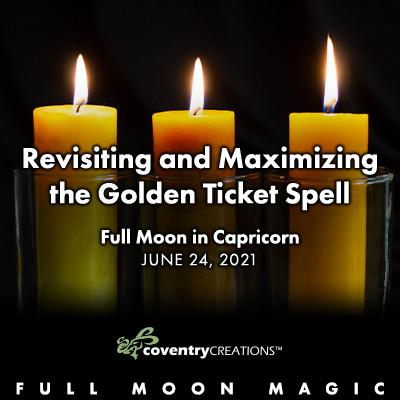 Full Moon in Capricorn June 24, 2021