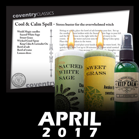 Cool and Calm Spell - Stress buster for the overwhelmed witch