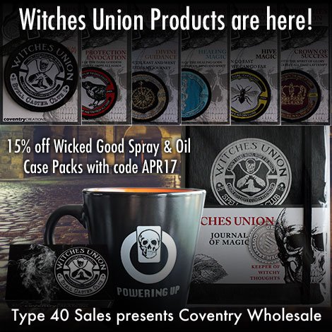 Introducing the Witches Union Product line!
