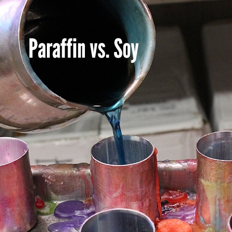 About Coventry's choice - Paraffin vs soy