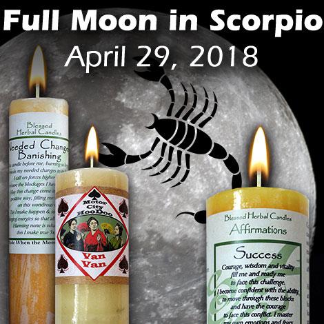 Full moon in Scorpio