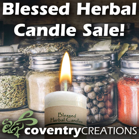 WS feature Blessed Herbal Candle Sale