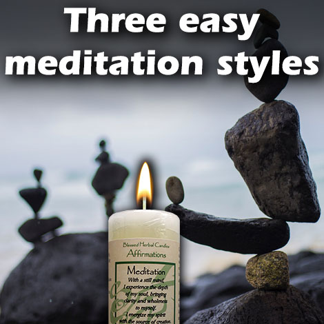 HM Three easy meditation styles