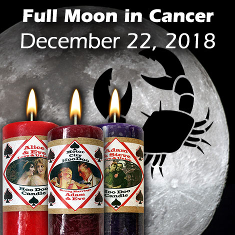 Full Moon in Cancer December 22 2018