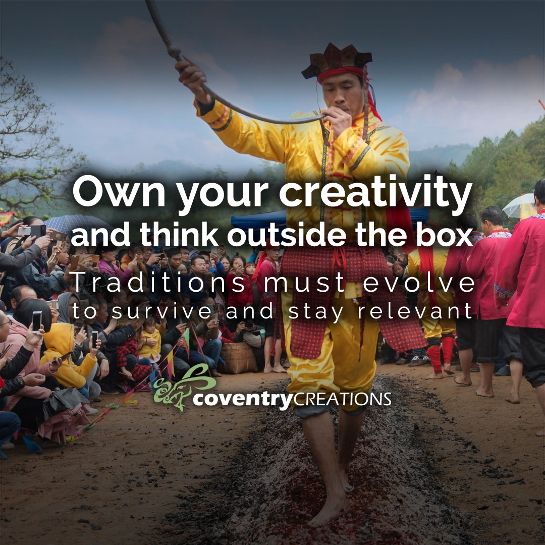 Own your creativity and think outside the box. Live The Magic Blog