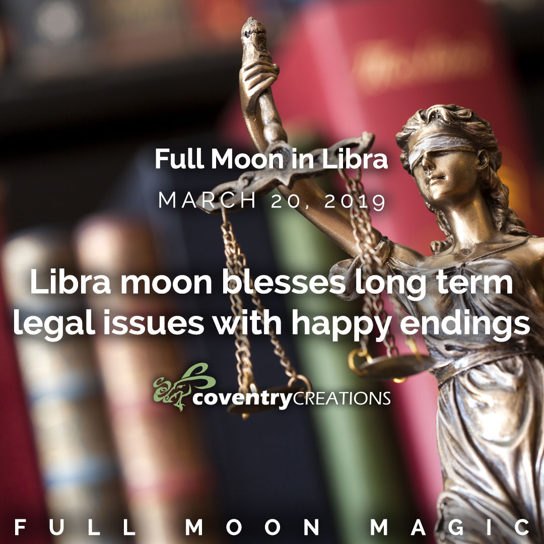 Full moon in Libra March 20 2019