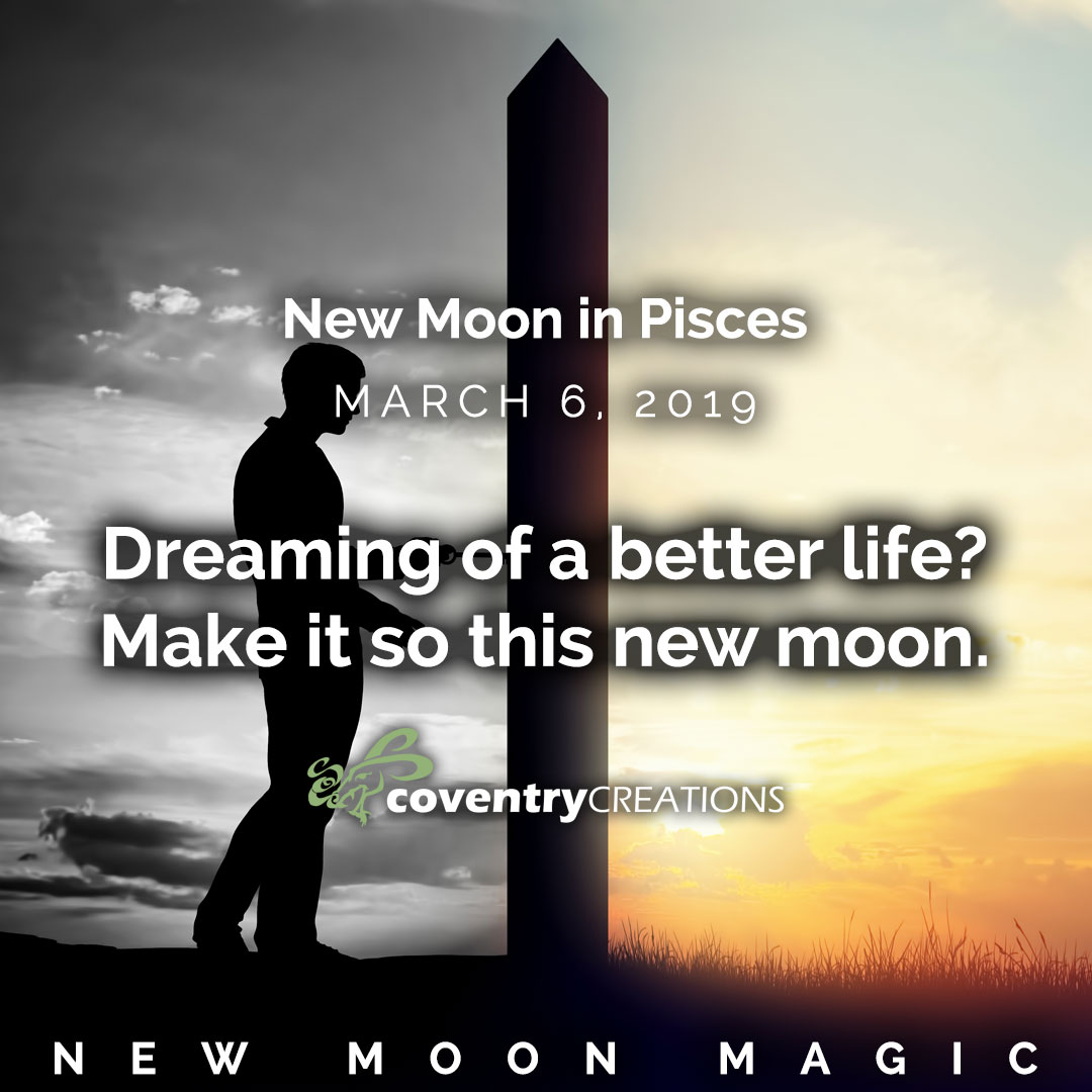 New Moon in Pisces March 6 2109