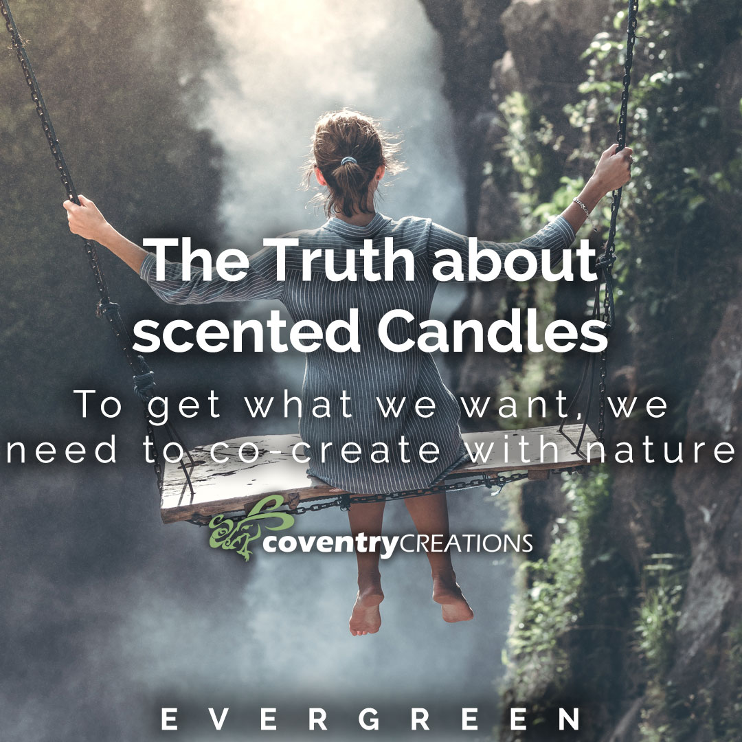 The truth about scented candles Evergreen