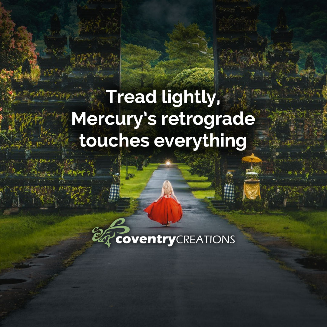 Tread lightly Mercury Rx touches everything