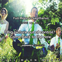 Full Moon in Sagittarius June 17